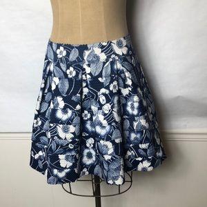Honey Punch bandage full floral print skirt